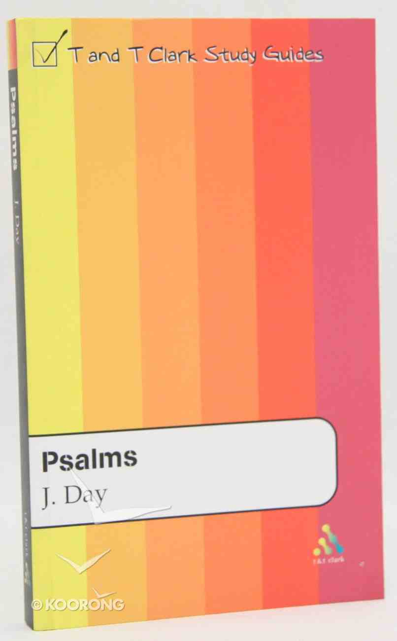 Psalms (T&t Clark Study Guides Series) Paperback