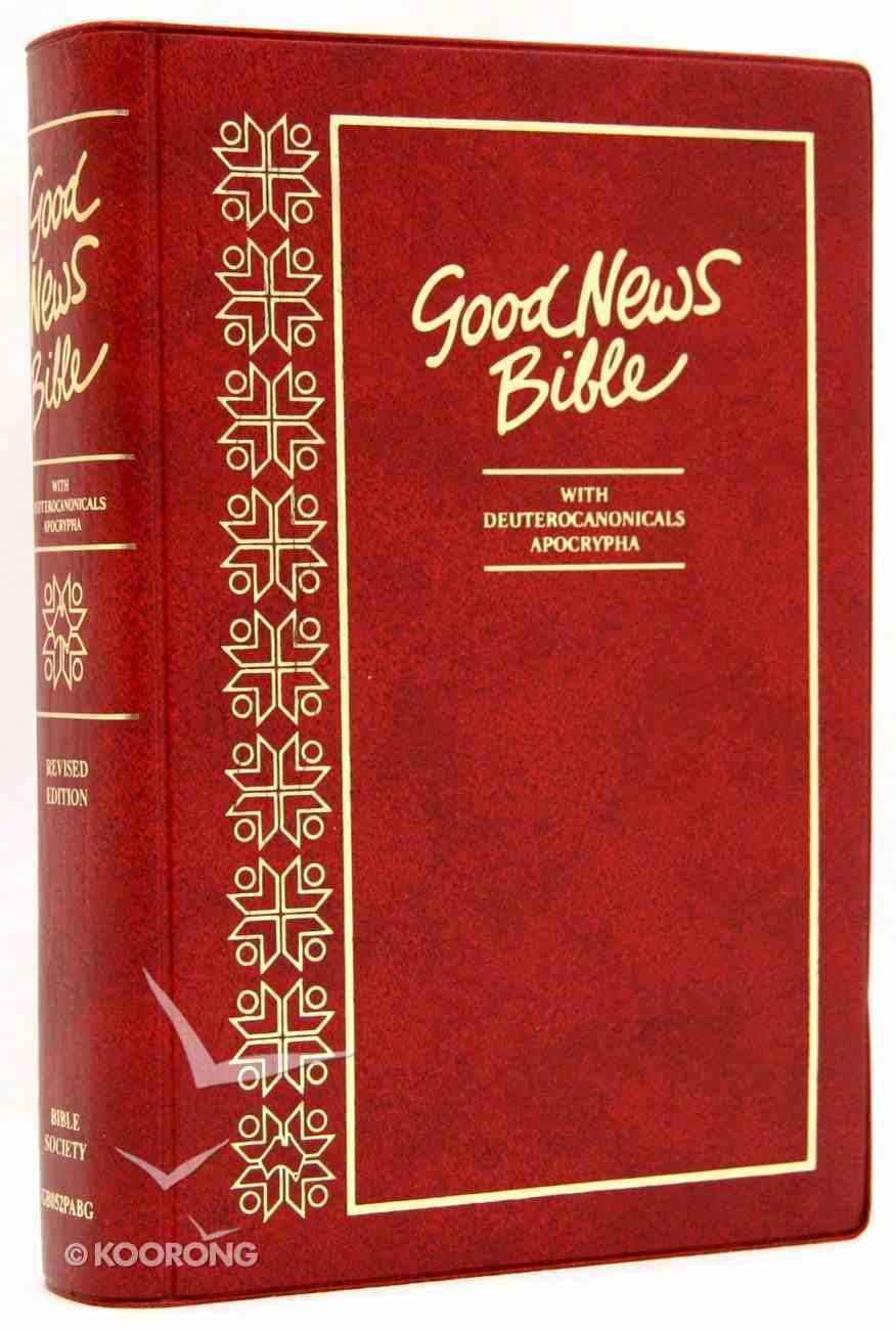 GNB Australian Text Catholic With Deuterocanicals/Apocrypha Burgundy Vinyl