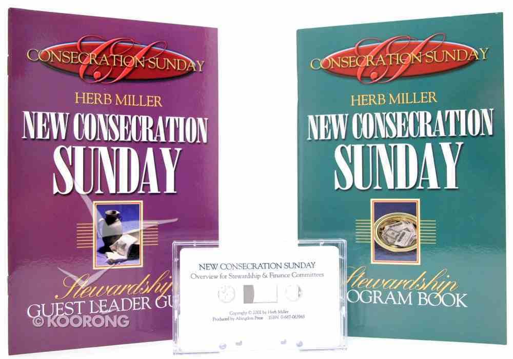New Consecration Sunday Stewardship Program Kit Pack