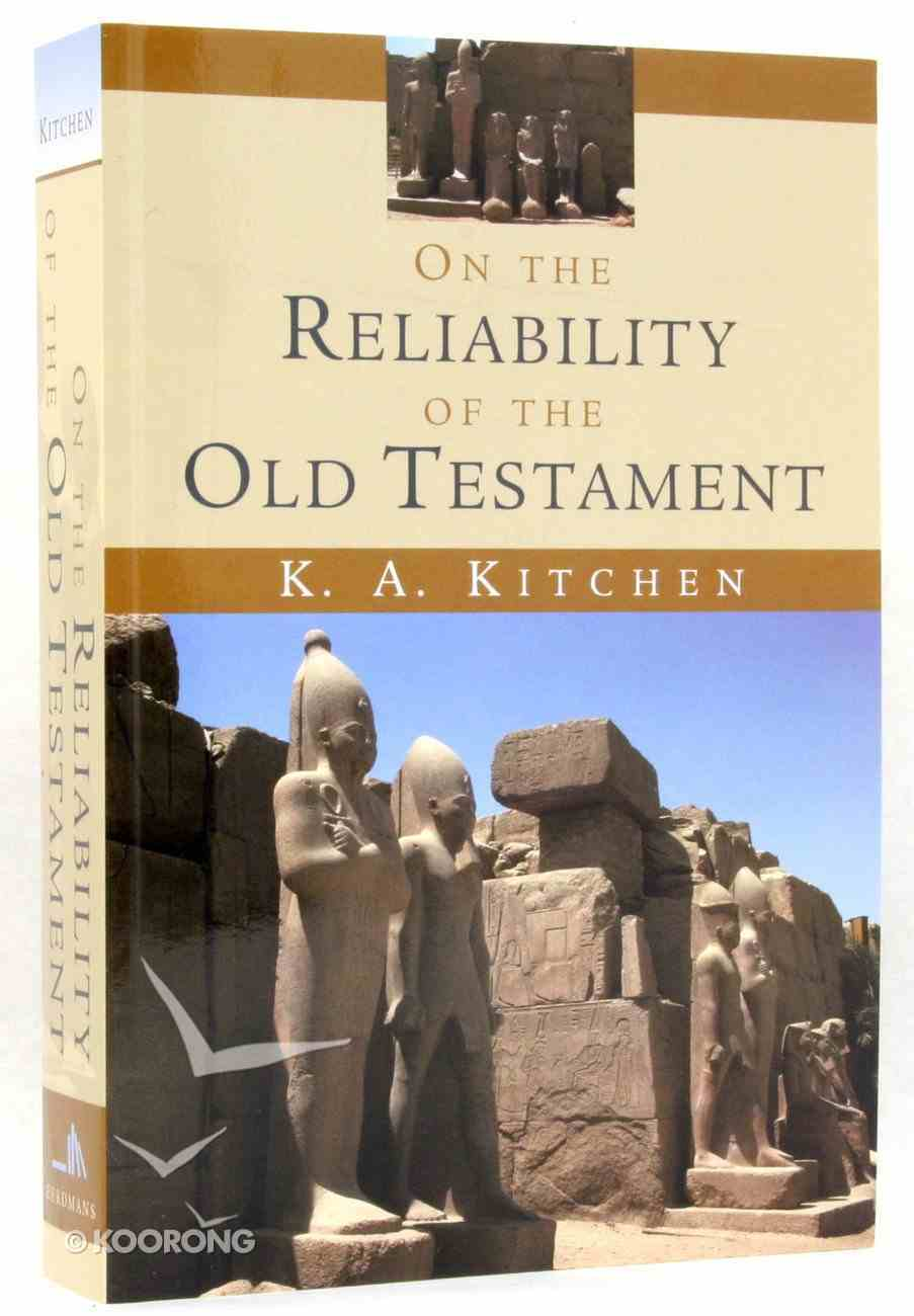 On the Reliability of the Old Testament Paperback