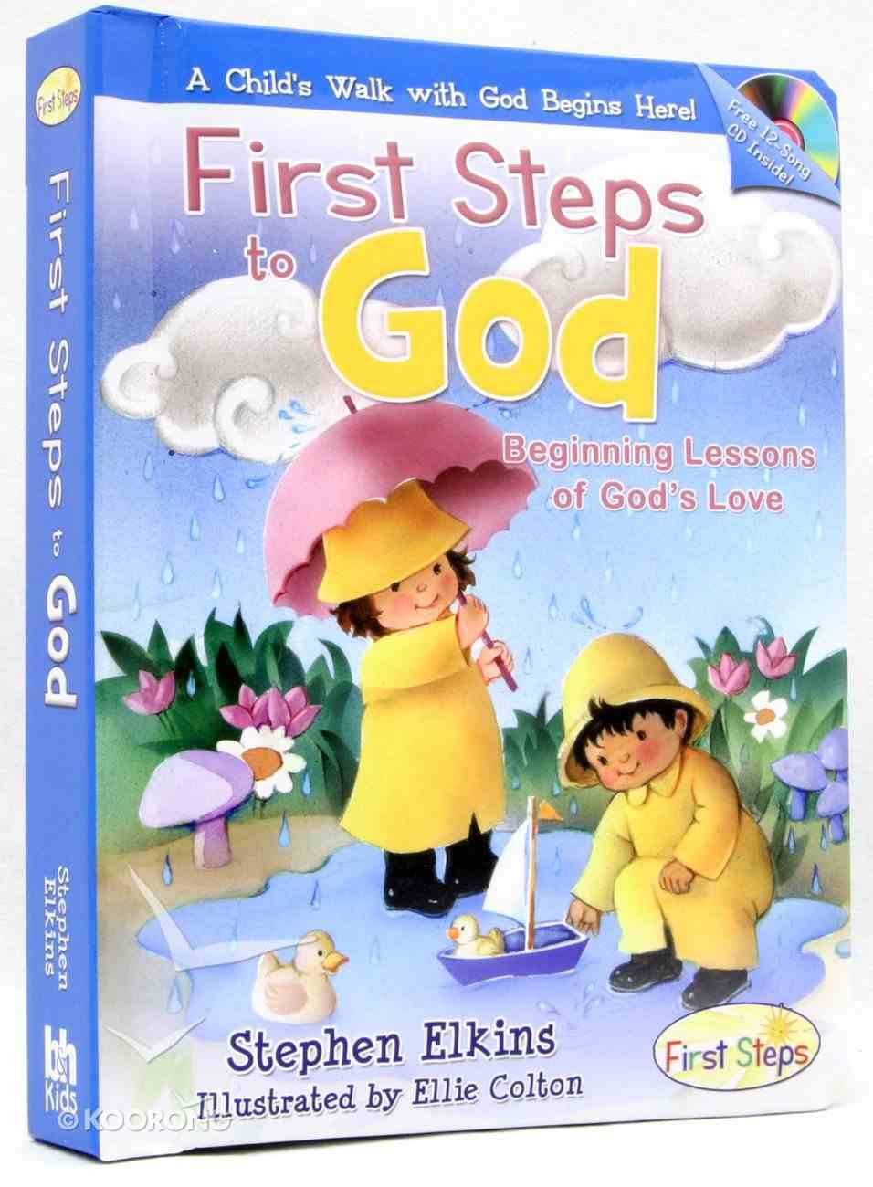 First Steps to God (With Music Cd) Board Book