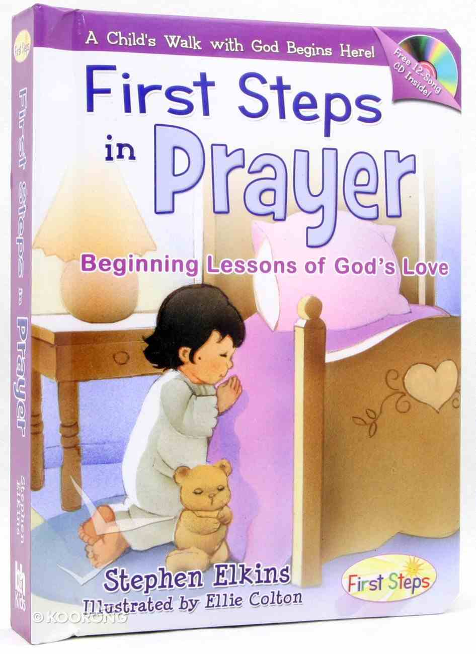 First Steps in Prayer (With Music Cd) Board Book