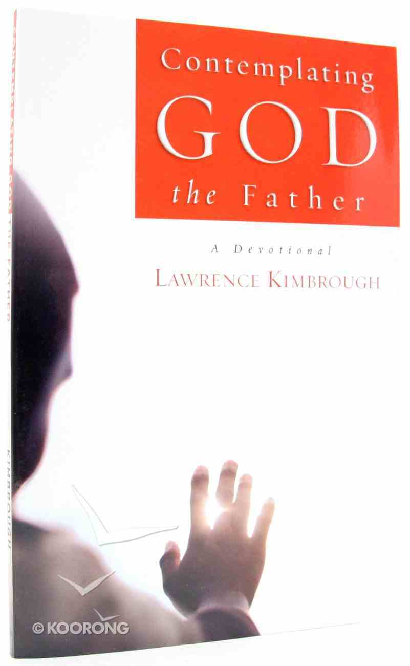 Contemplating God the Father Paperback