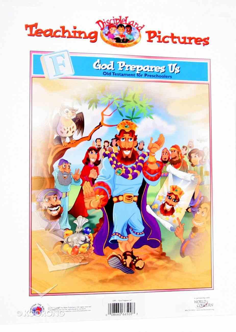 Dlc Preschool: OT, Unit F (Pictures) (Discipleland Preschool, Ages 3-5 Series) Paperback