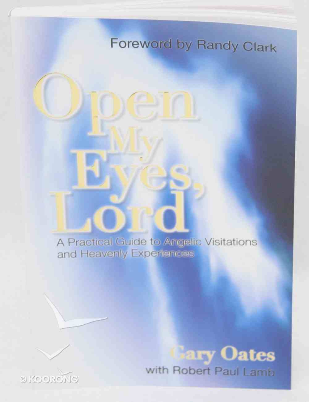 Open My Eyes, Lord Paperback