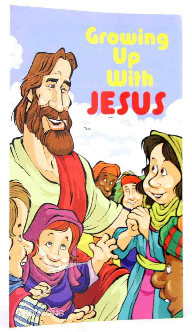 Growing Up With Jesus (20 Pack) Booklet