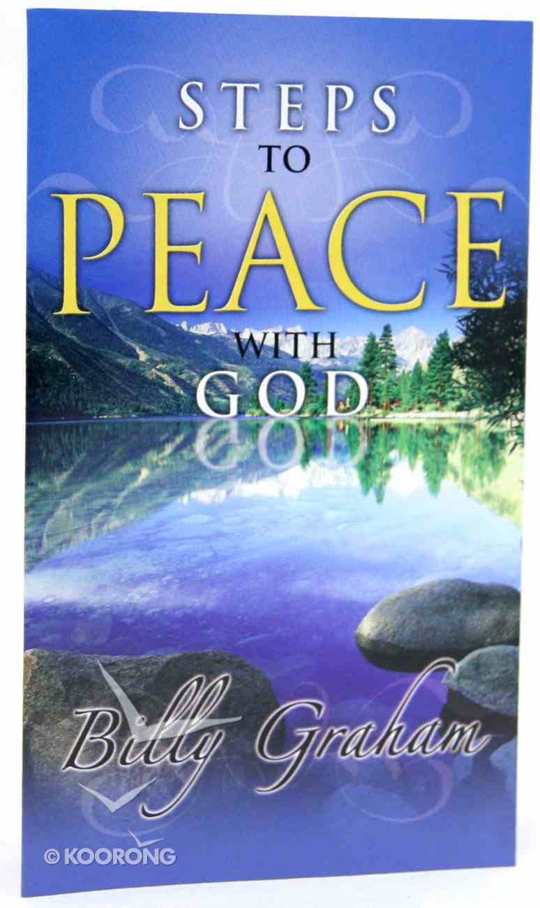 Steps to Peace With God (20 Pack) (Niv) Booklet