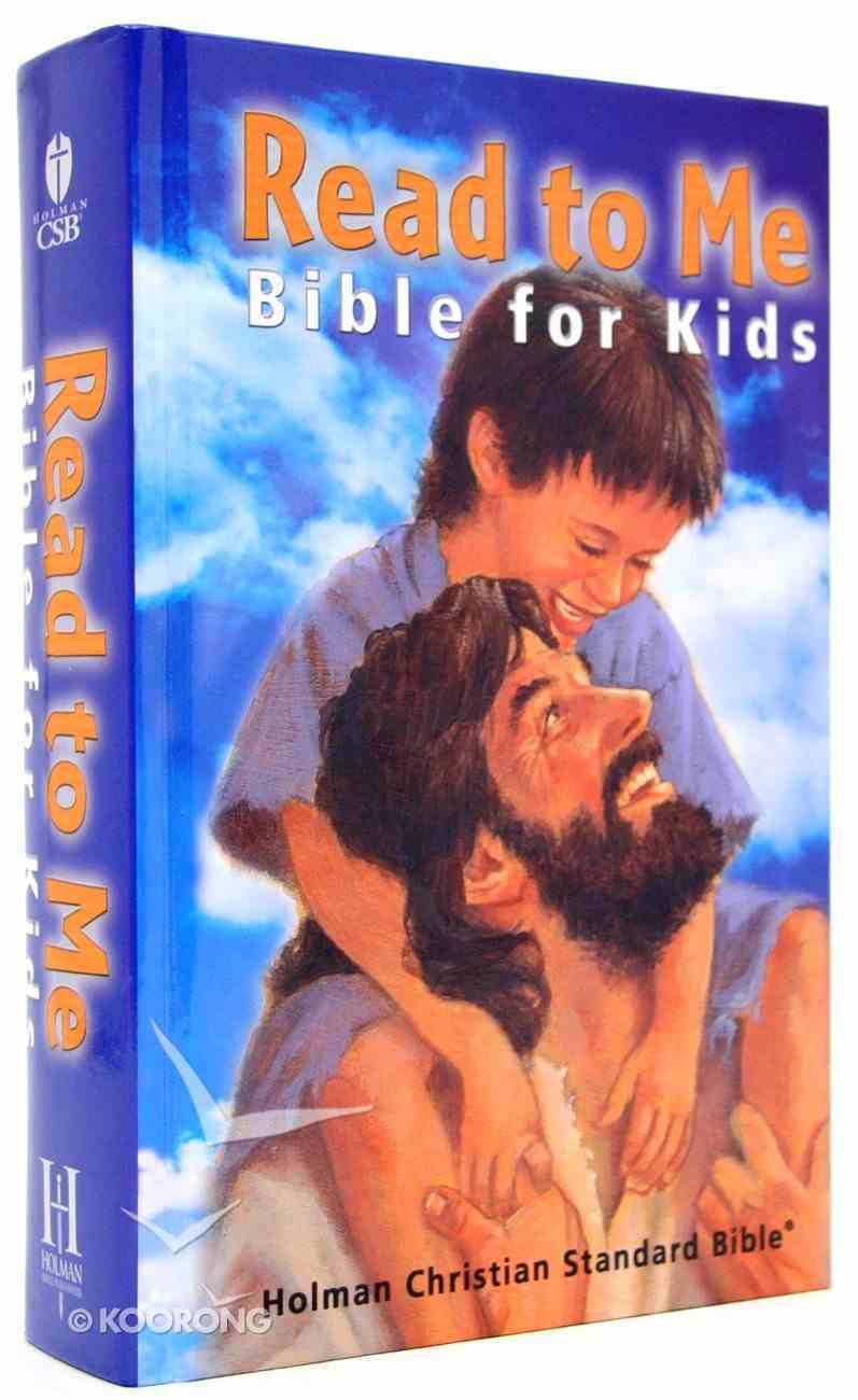 HCSB Read to Me Bible For Kids Hardback