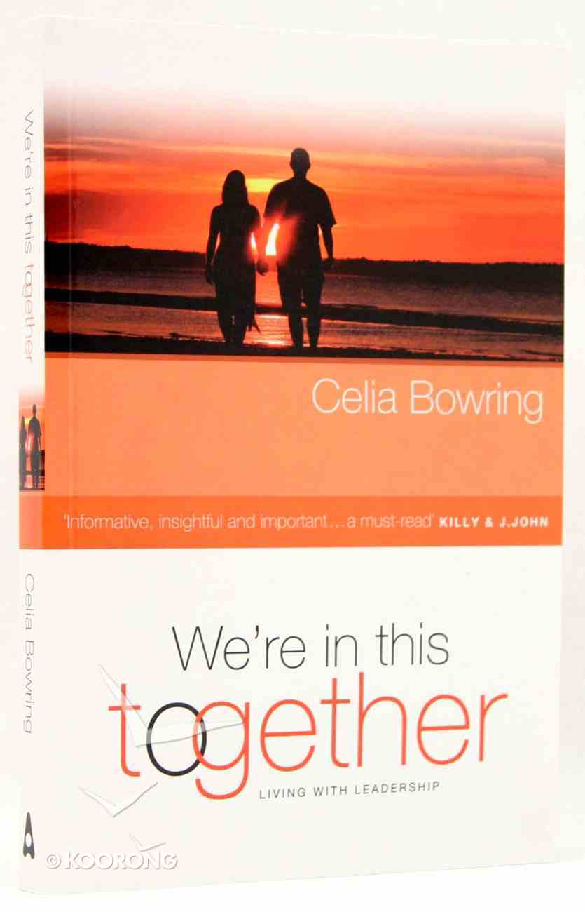We're in This Together Paperback