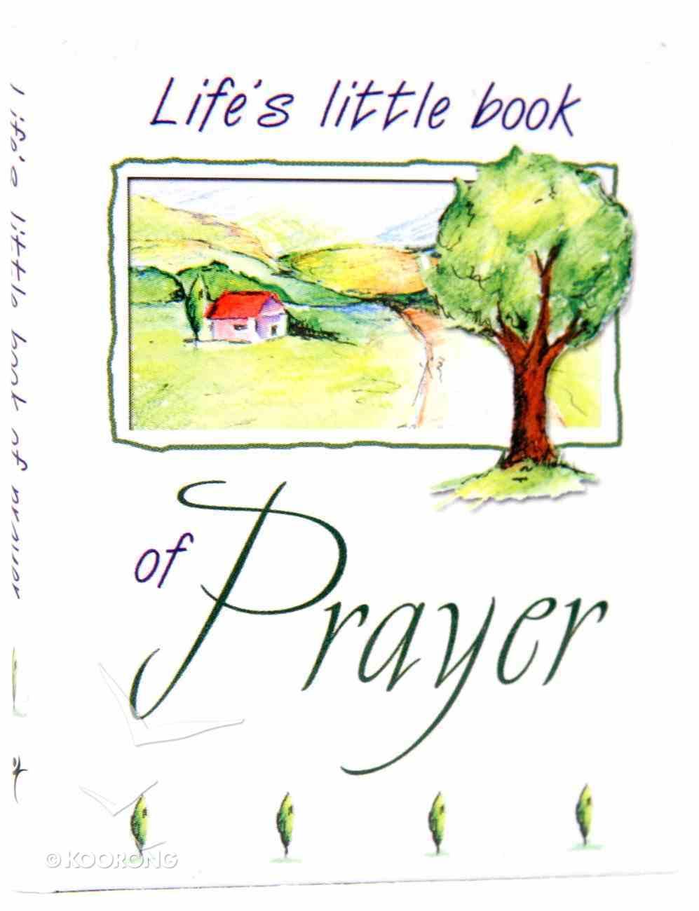 Life's Little Book of Prayer Hardback