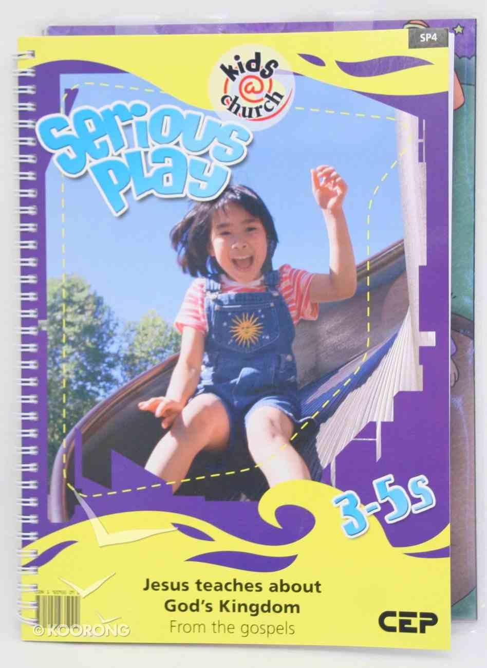Kids@Church 04: Sp4 Ages 3-5 Teacher's Manual (Serious Play) (Kids@church Curriculum Series) Pack