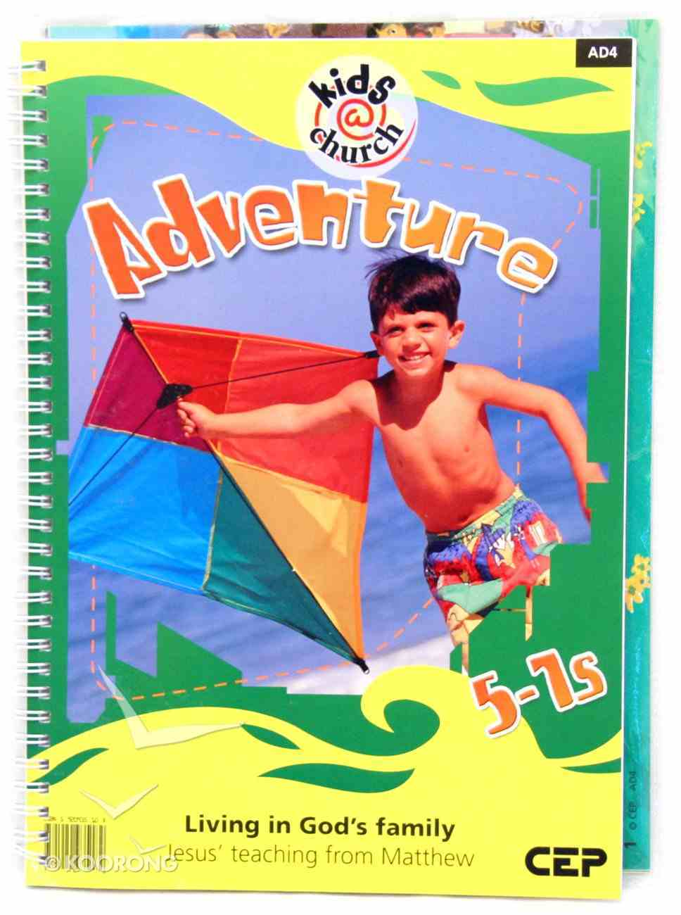 Kids@Church 04: Ad4 Ages 5-7 Teacher's Manual (Adventure) (Kids@church Curriculum Series) Spiral