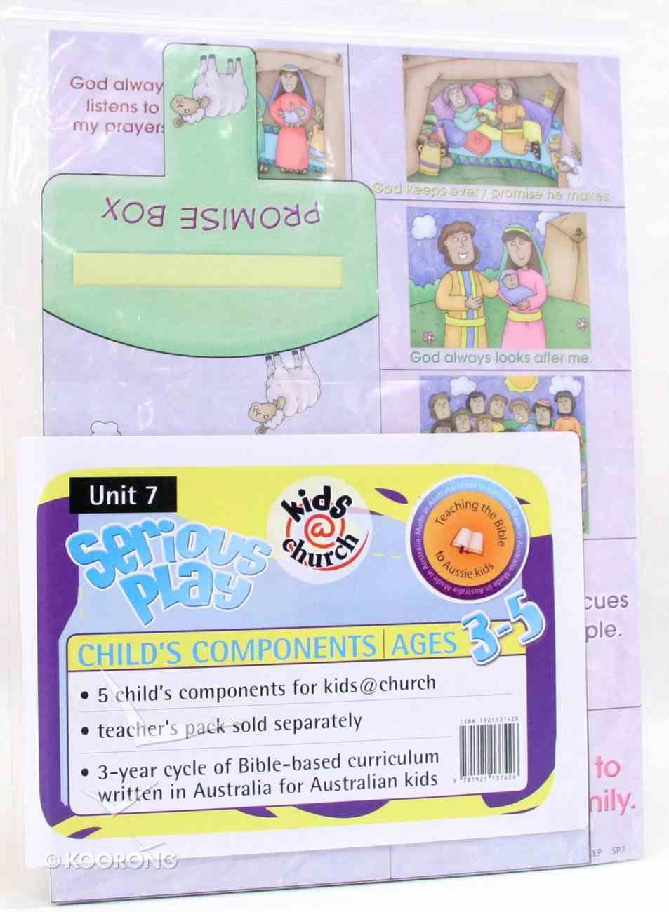 Kids@Church 07: Sp7 Ages 3-5 Child Components (5 Pack) (Serious Play) (Kids@church Curriculum Series) Pack
