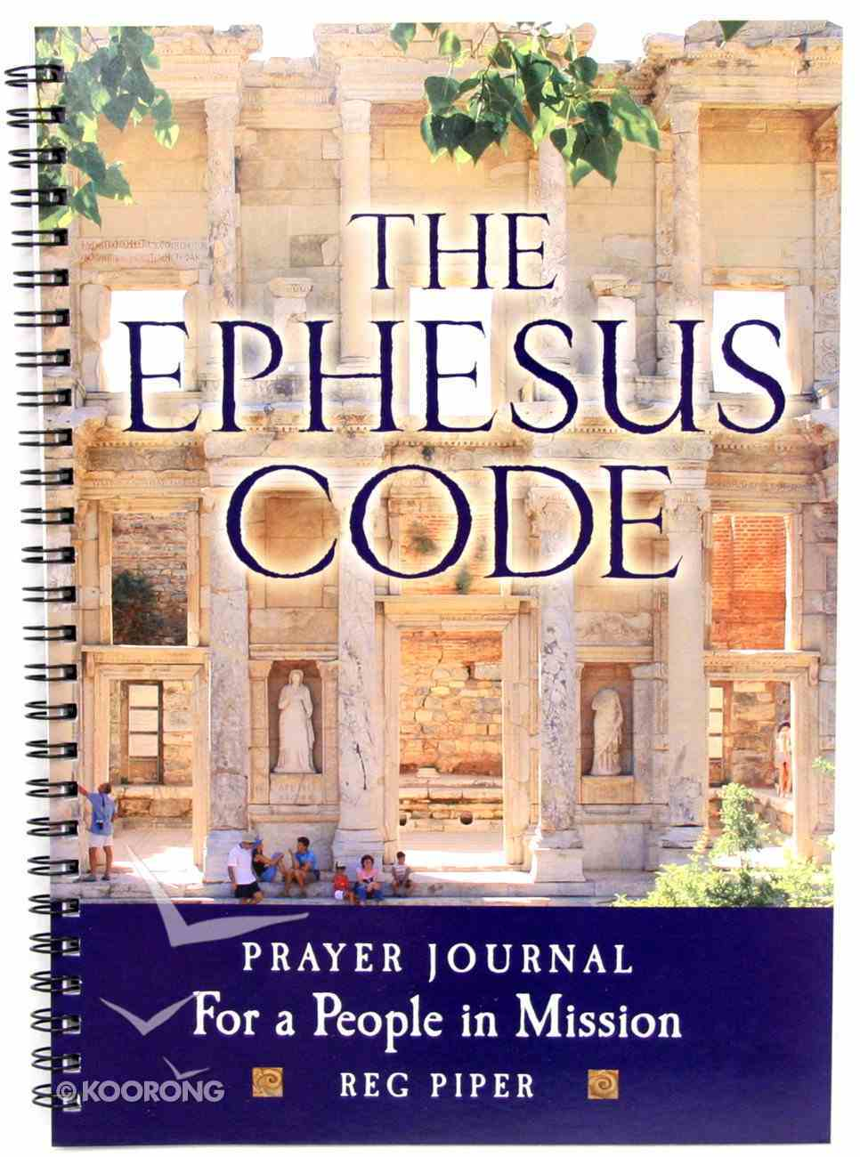 The Ephesus Code Prayer Journal Spiral