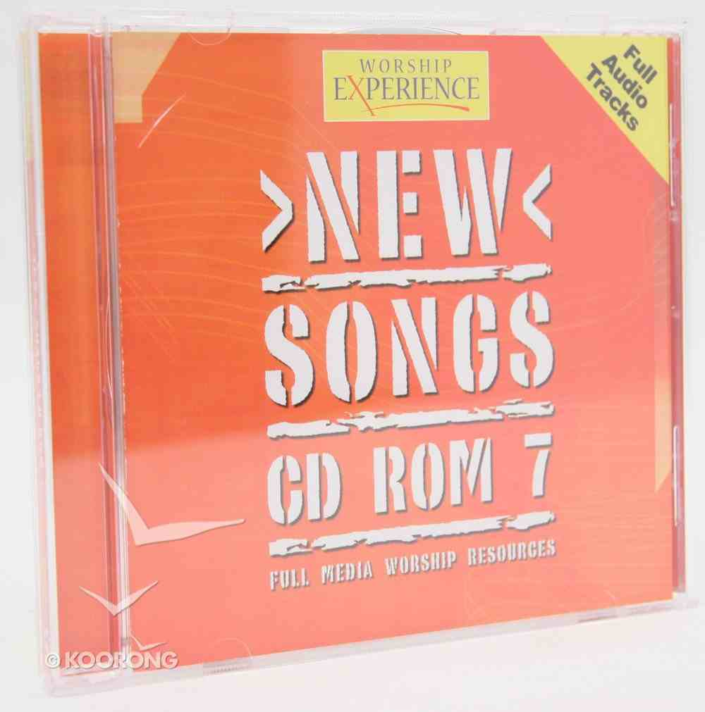 CDROM (#07 in Worship Experience New Songs Series) CD-rom