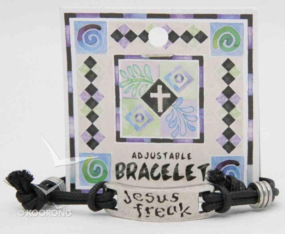 Cord Bracelet: Jesus Freak Jewellery
