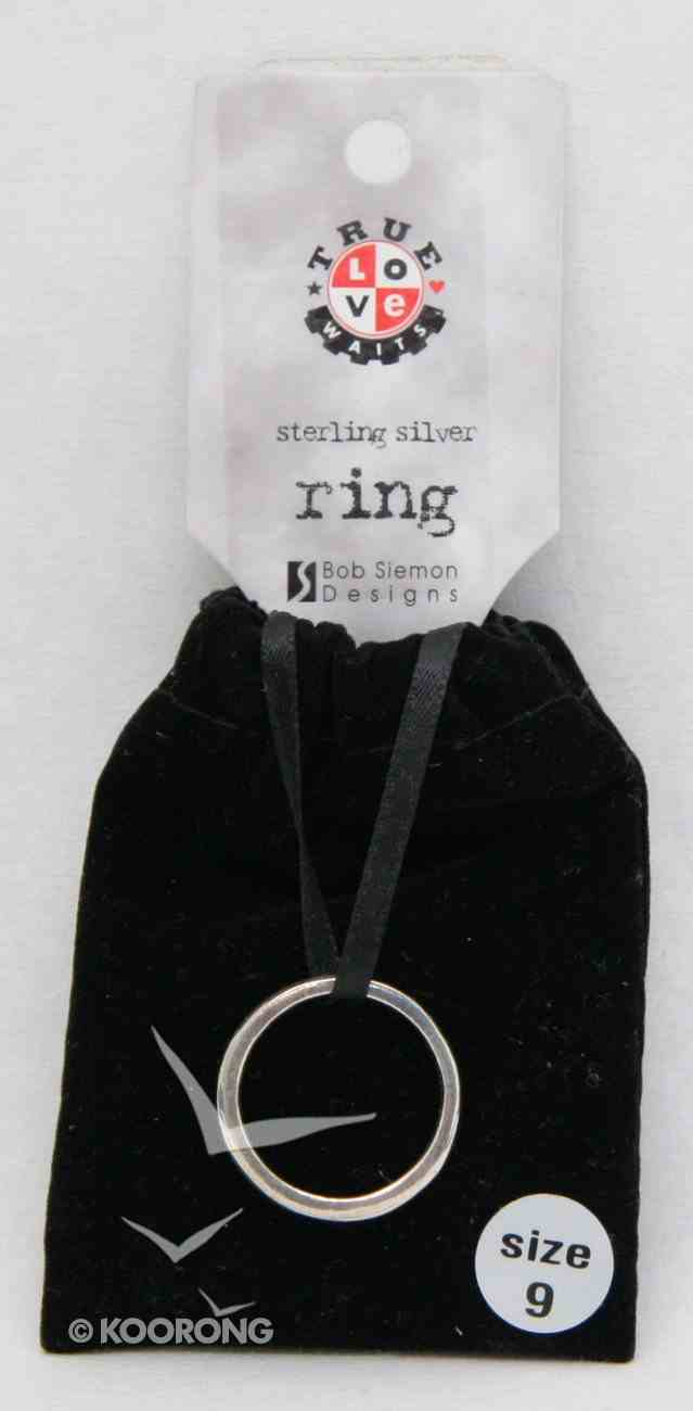 Ring: True Love Waits Size 09 (Sterling Silver) Jewellery