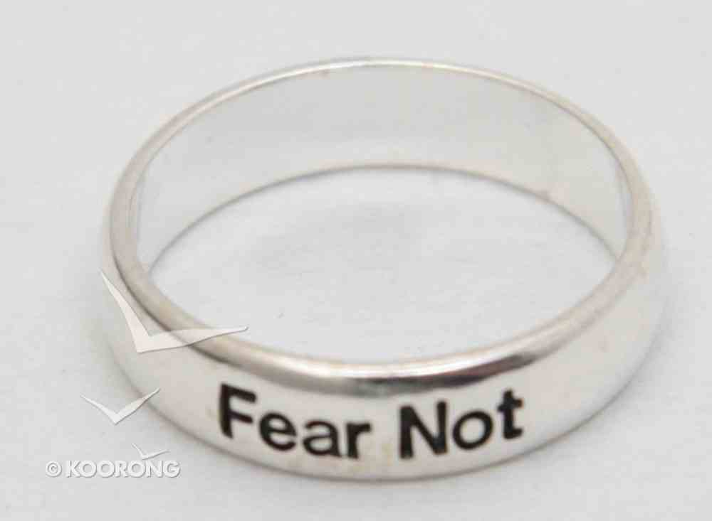 Ring: Fear Not Size 9 (Sterling Silver) Jewellery