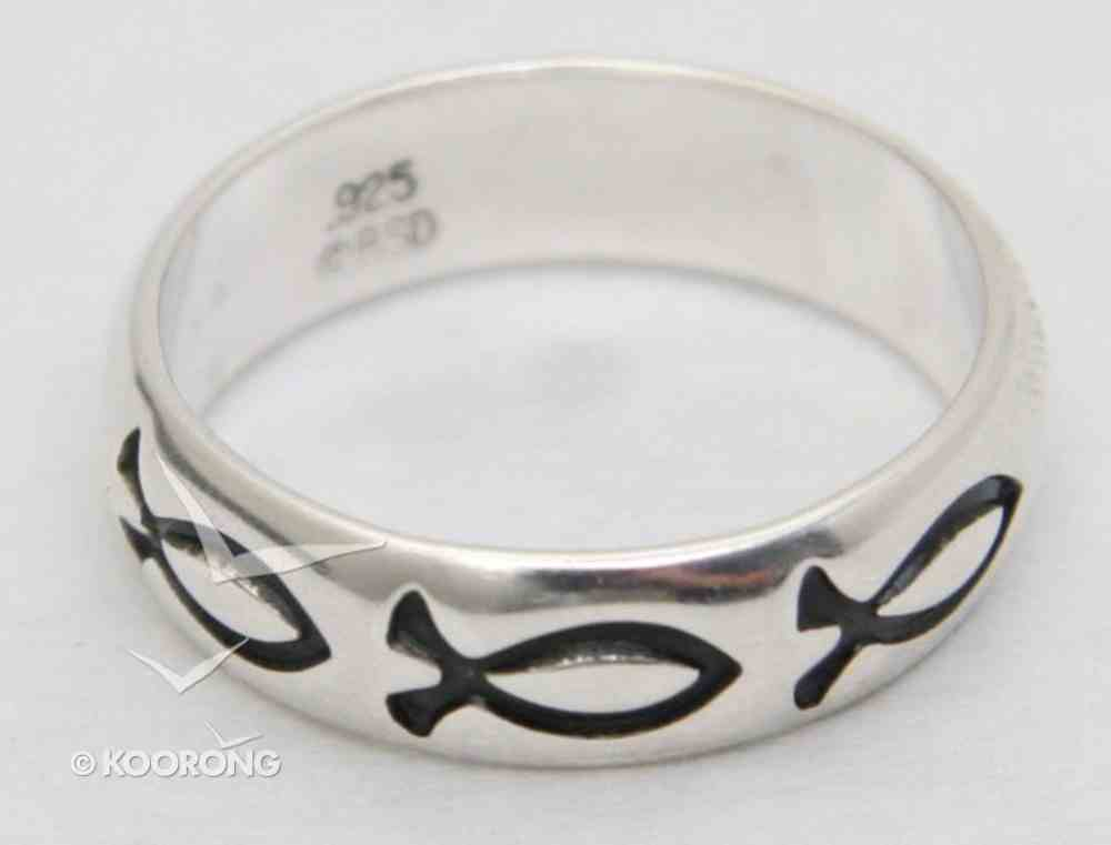 Ring: Fish Size 10 Sterling Silver Jewellery