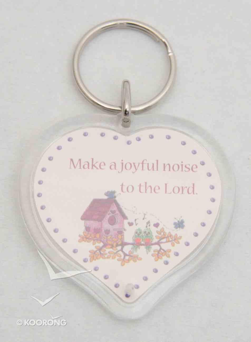 Plastic Keyring: Make a Joyful Noise Novelty