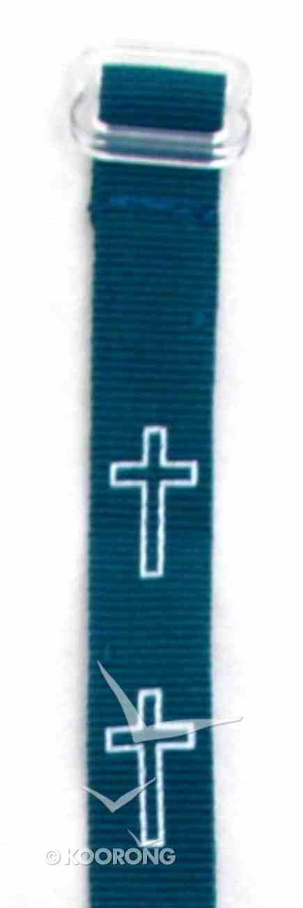 Wristband: Cross Green Jewellery