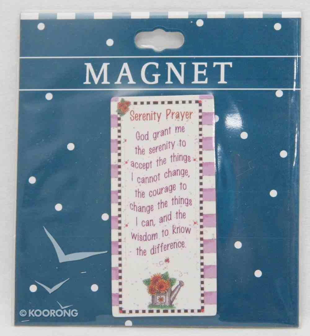 Magnet: Serenity Prayer Novelty