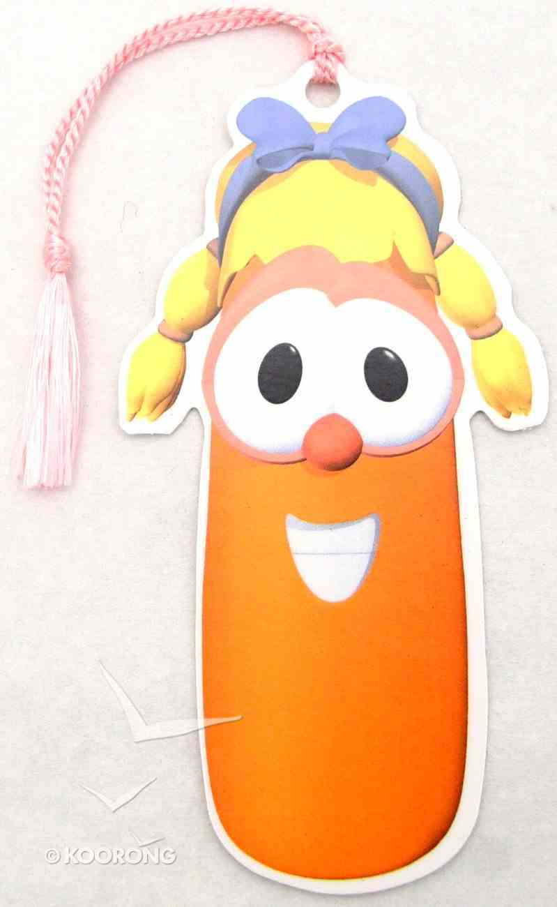 Bookmark With Tassel: Veggie Tales Laura Carrot Stationery