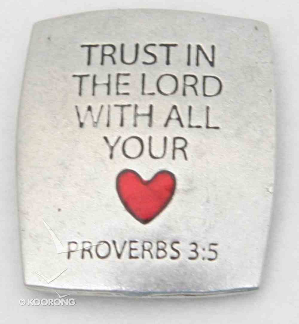 Magnet: Trust in the Lord (Solid Pewter) Novelty