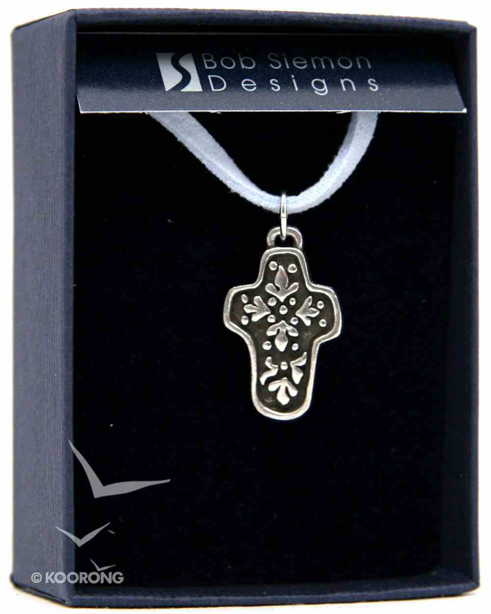 Pendant: Abundant Life Cross (Pewter) Jewellery