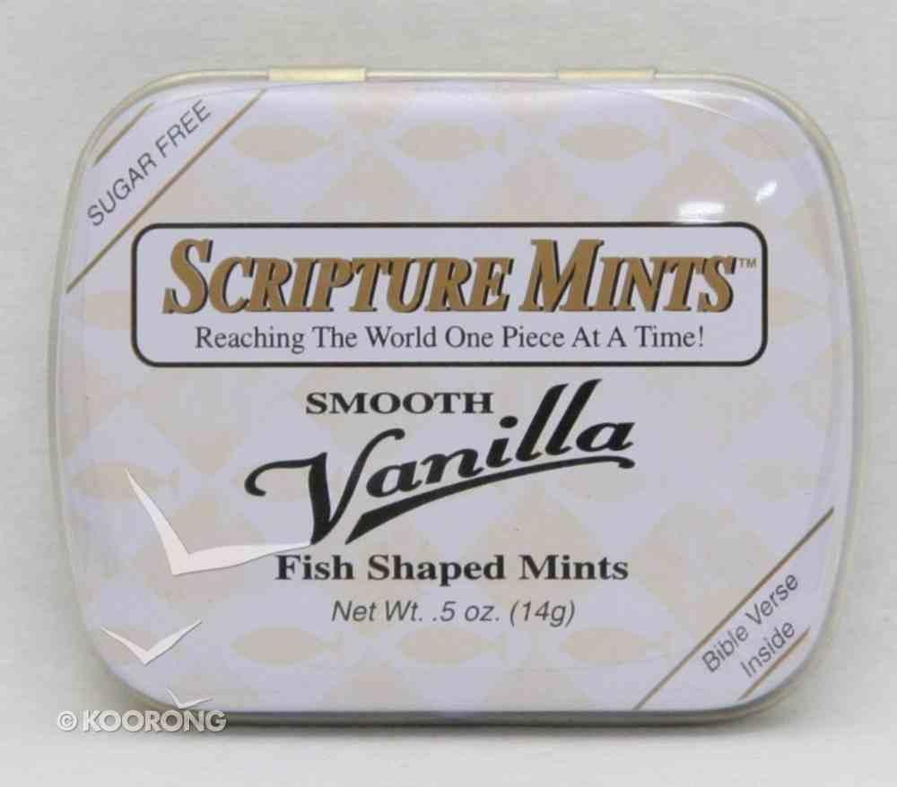 Scripture Fish Mints Pocket Tin: Smooth Vanilla Sugar Free General Gift