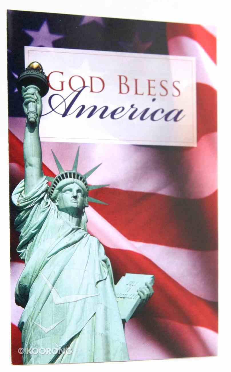 God Bless America ESV (Pack Of 25) Booklet