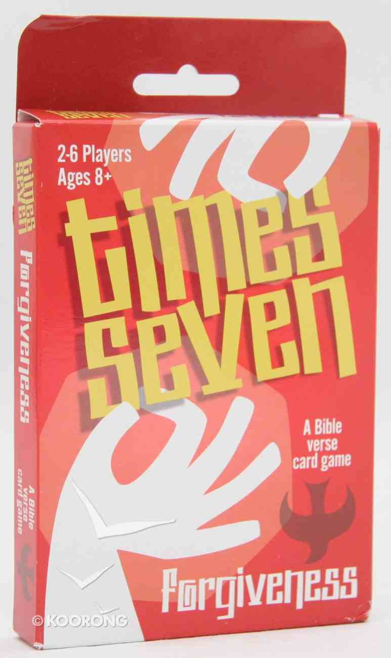 Times Seven: Forgiveness (Times Seven Card Game Series) Game