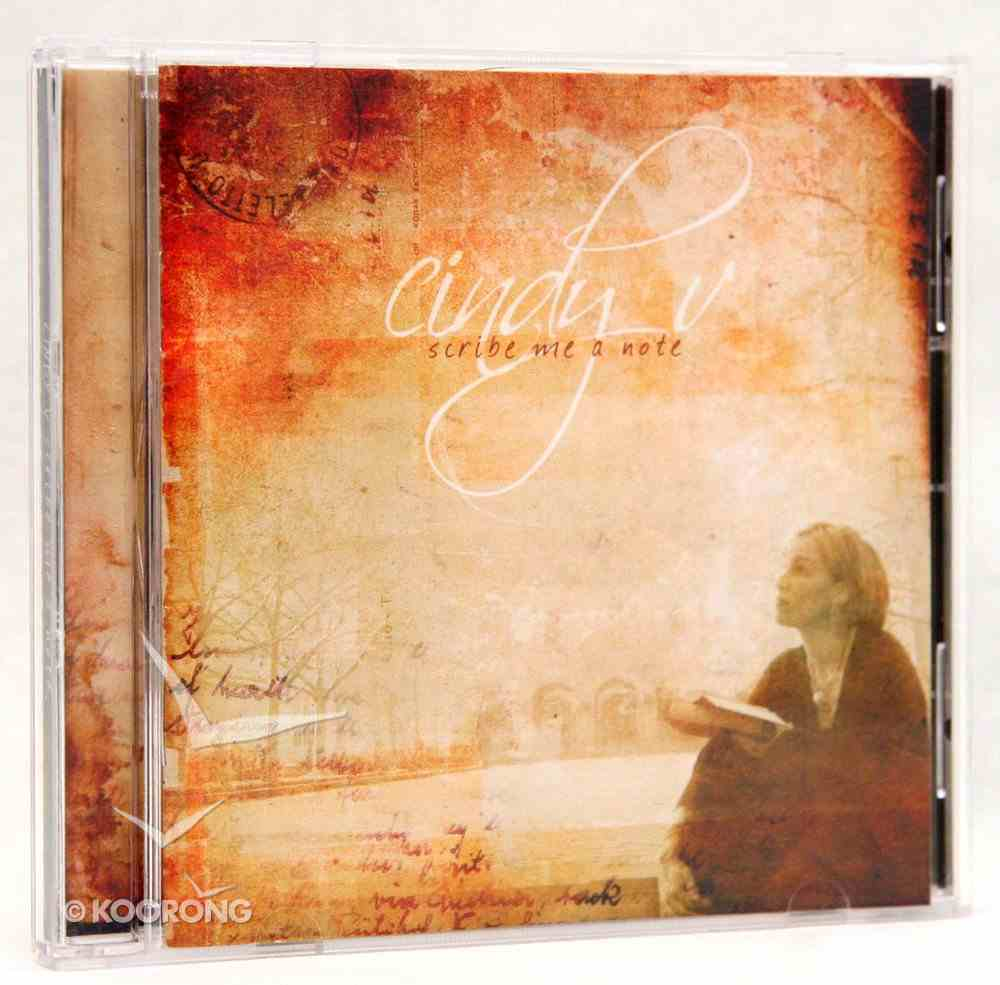 Scribe Me a Note CD