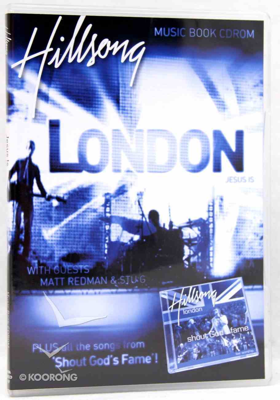 Hillsong London 2006: Jesus is CDROM Music Book CD-rom