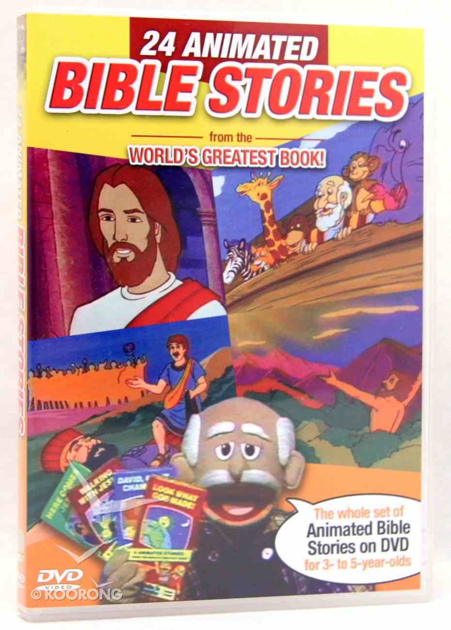 24 Animated Bible Stories DVD