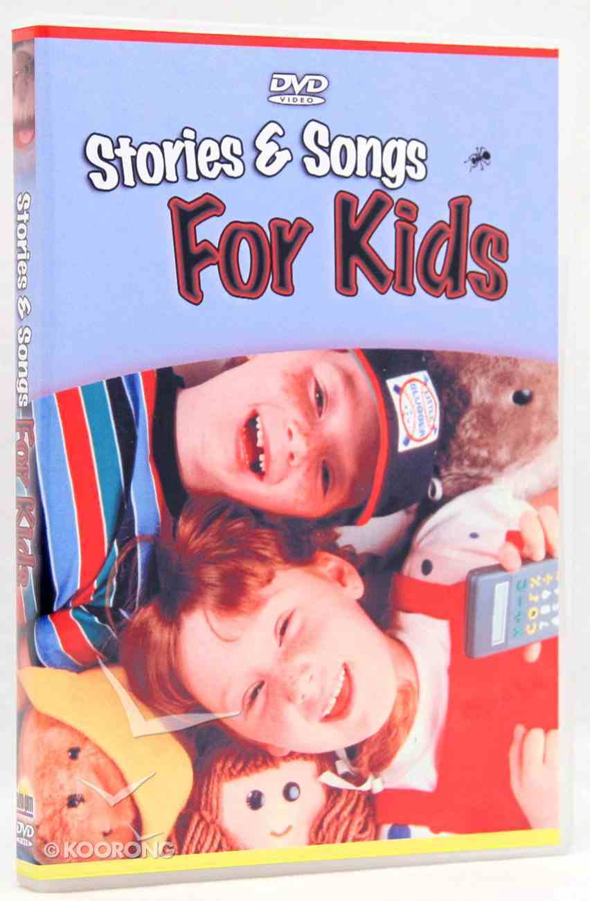 Songs and Stories For Kids DVD