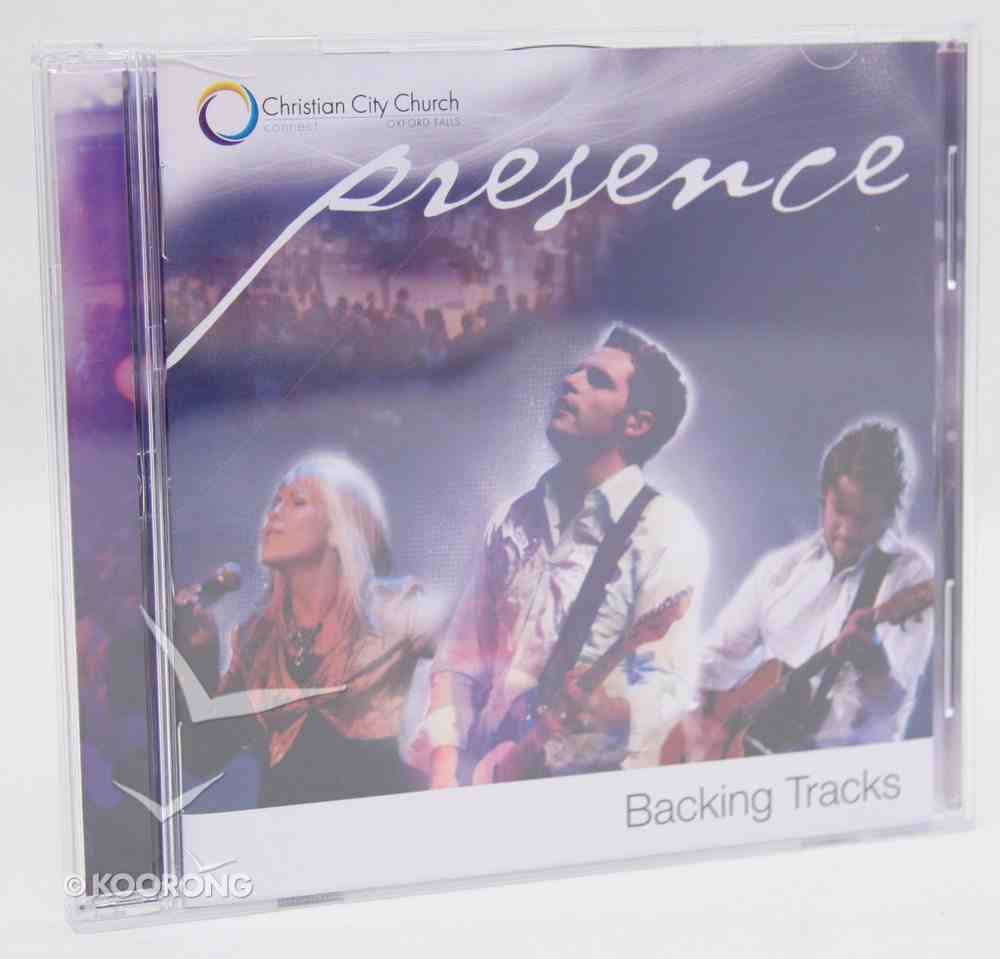 Presence (Accompaniment) (Backing Tracks) CD