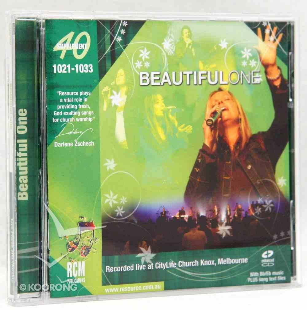 Rcm Volume G: Supplement 40 Beautiful One (1021-1033) CD