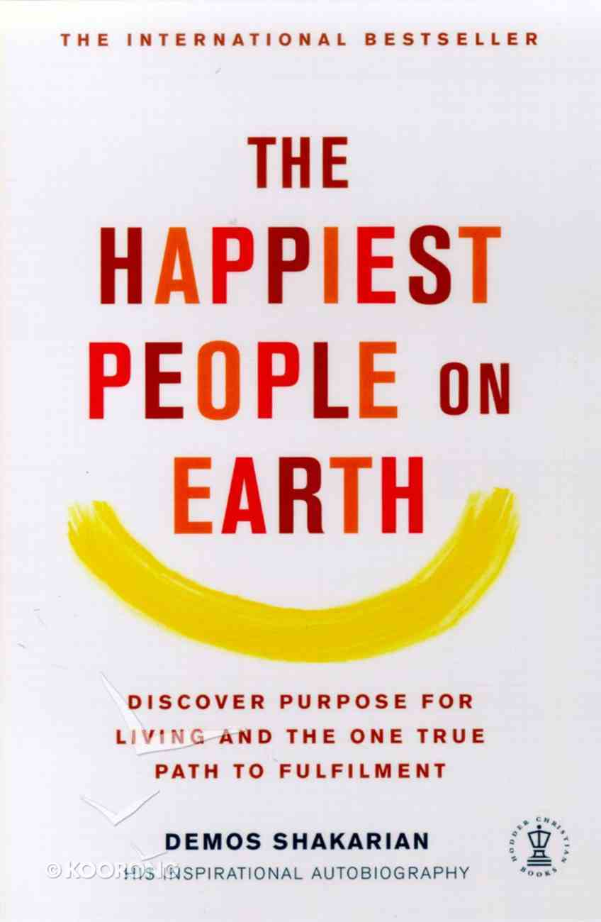The Happiest People on Earth Paperback
