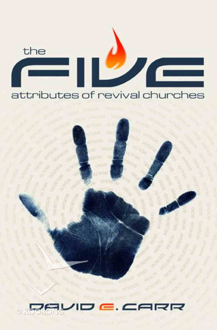 The 5 Attributes of Revival Churches Paperback