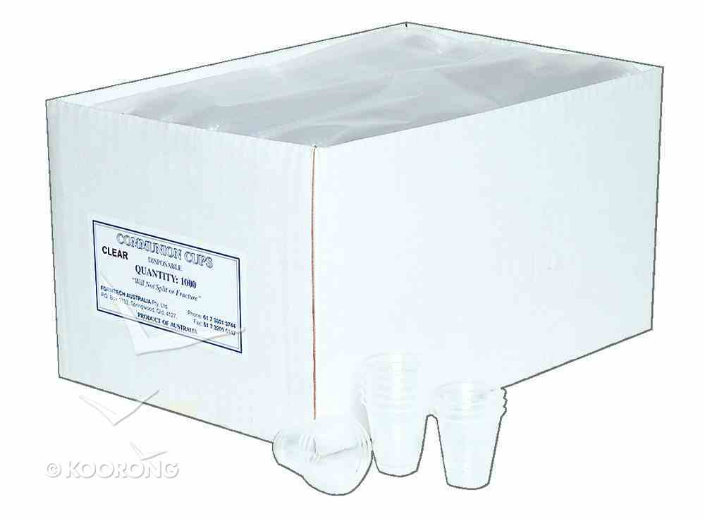 Communion Cups Plastic (Box Of 1000) Church Supplies