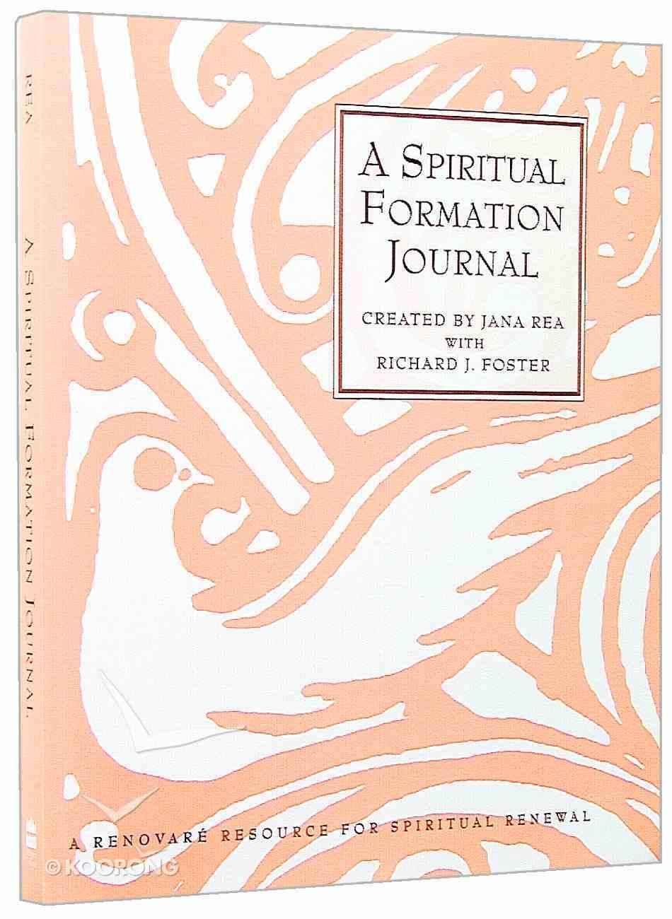 A Spiritual Formation Journal Paperback