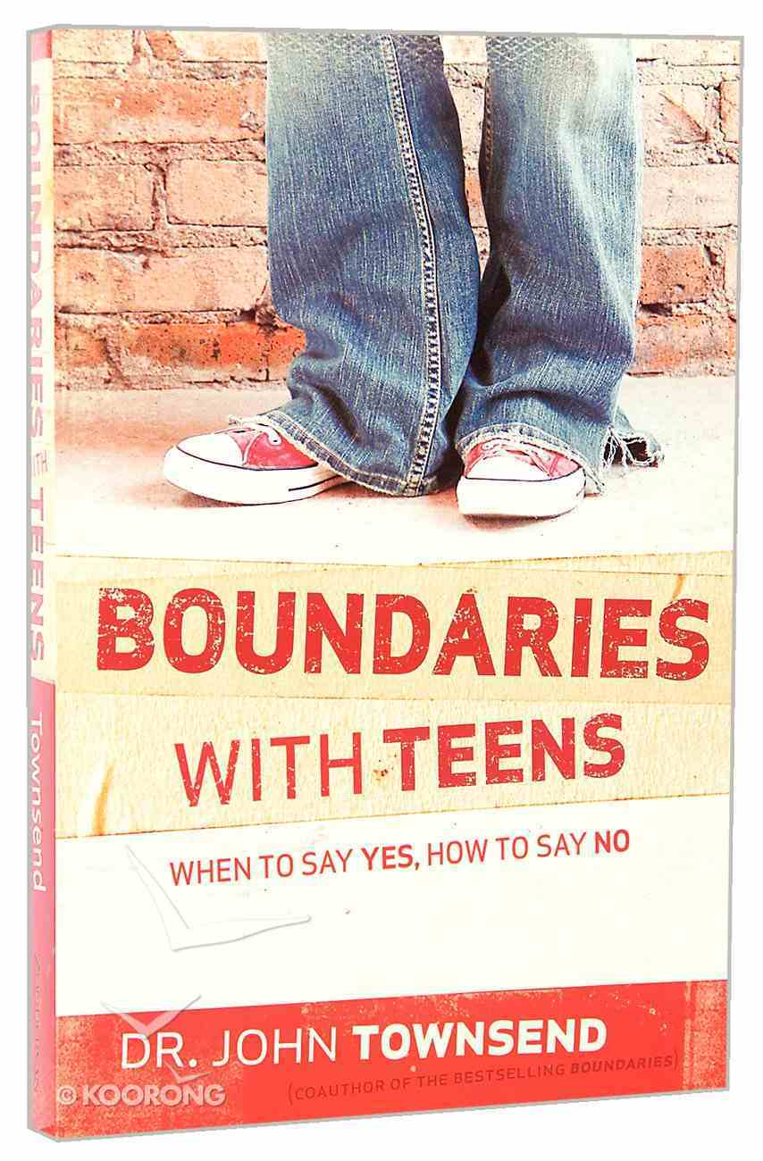 Boundaries With Teens Paperback