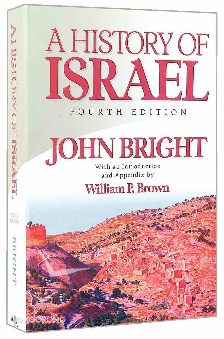 A History of Israel (4th Edition) Paperback