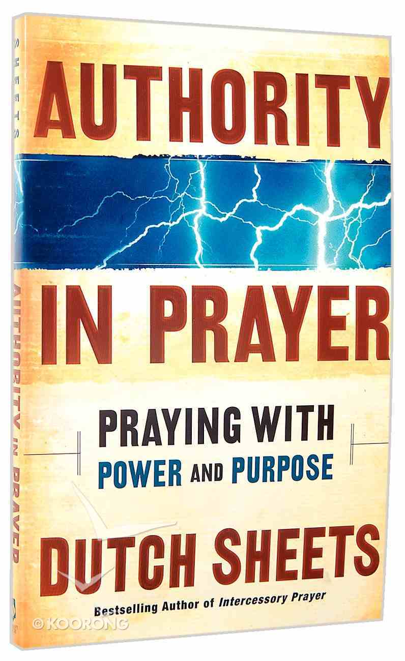 Authority in Prayer Paperback