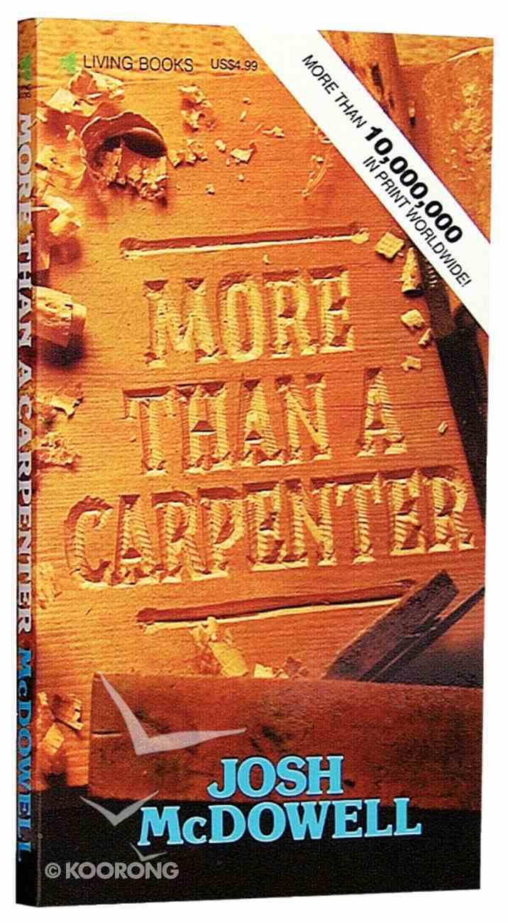 More Than a Carpenter Mass Market