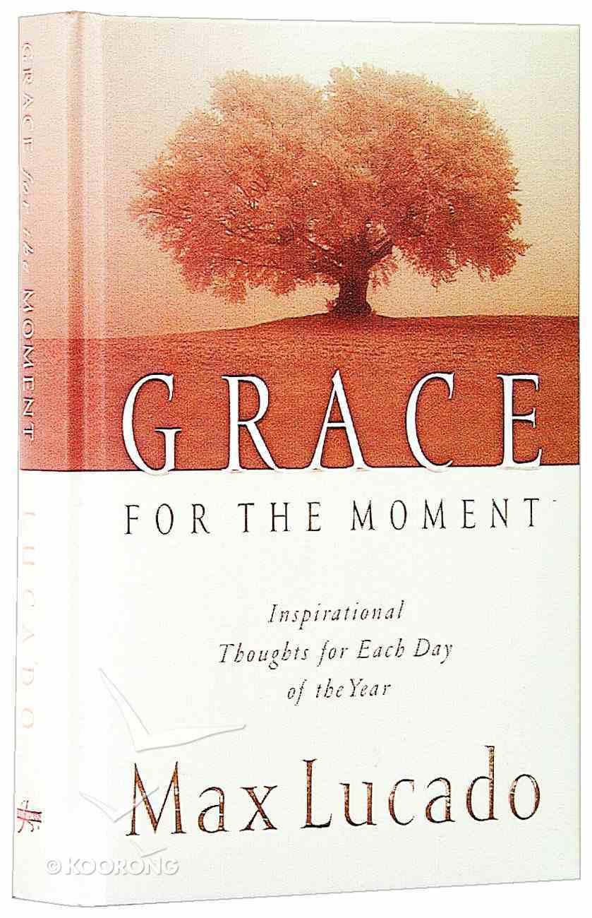 Grace For the Moment Hardback