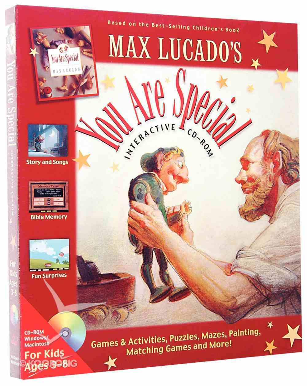 You Are Special CDROM Max Lucado Win Mac CD-rom