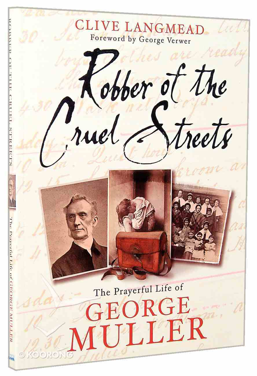 Robber of the Cruel Streets Paperback