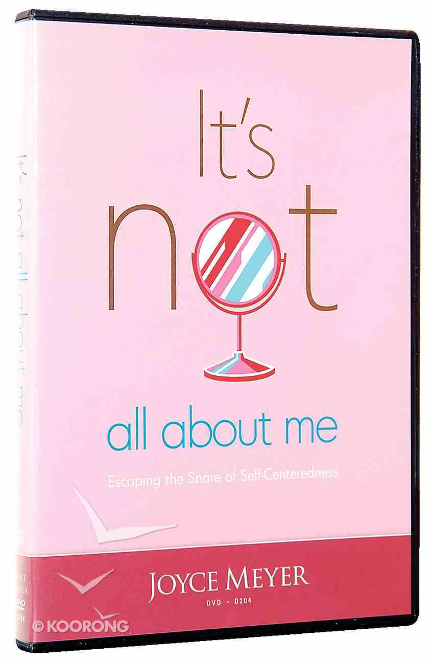 It's Not All About Me (1 Disc) DVD